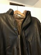 Authentic Overland Winter Coat Jacket Lamb Lined Interior Christmas Gift Men's