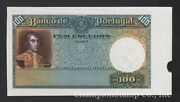 Portugal Banknote Specimen Creases At Top, Cat P 150s