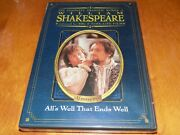 All's Well That Ends Well William Shakespeare Time Life Bbc Region 1 Dvd New