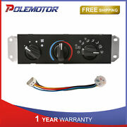 Ac Heater Control +blower Motor Switch For Jeep Wrangler Tj Replaces 55037473ab