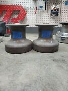 Pair Merriman 25 Two Speed Winches