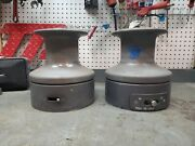 Pair Barient 32 Two Speed Hi/low Winches