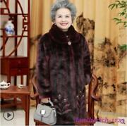 Womenand039s Faux Fur Coat Loose Outwear Winter Warm Button Elegant Fashion Oversize