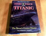 Story Of The Wreck Of The Titanic White Star Liner 1912 Memorial Reprint Book