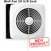 10 Kitchen Exhaust Fan Pull Chain White Wall Ventilation Laundry Room Workshop