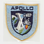 John Youngand039s Apollo 10 Flown Embroidered Mission Insignia Post-flight Crew Patch