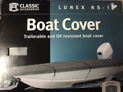 Classic Accessories Lunex Rs-1 Boat Cover Gray Size C 16and039-18.5and039 Ft. Loceb69