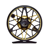 New Bauer Rvr 4/5 Midnight Black/gold Fly Reel For 4-5 Weight Rod+ Free Us Ship