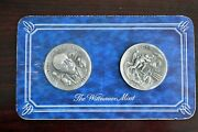 The Wittnauer Mint .999 Fine Silver Roosevelts Four Freedoms Iwo Jima