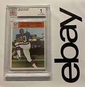 Gale Sayers Rookie Bvg 1 Philadelphia Collector Card Vintage Antique 1966 Bears