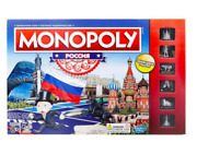 Board Game Monopoly Russia 8+ Traditions Gift Collectors Edition Toys And Games