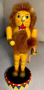1998 Nutcracker Village Circus Lion Old World Christmas Holliday Figure 9 Inches