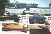 Lionel Mpc - 0/027 Scale - 1652 Baltimore And Ohio Diesel Freight Set- New- J1