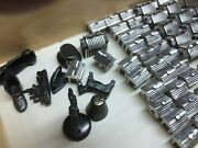 Blackened Sterling Silver Monopoly Pieces22 Hotels, 32 Houses And 8 Game Pieces
