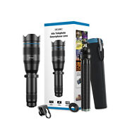 60x Telephoto Smartphone Lens With Tripod Mobile Cell Phone Monocular Optics
