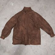 Vintage Wilson Adventure Bound Large Leather Jacket With Removable Liner L