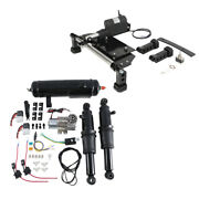 Electric Center Stand Air Ride Suspension + Air Tank For Harley Road Glide 09-16
