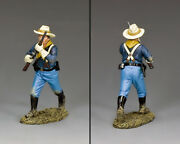 New Cavalry Trooper Advancing King And Country Kx037 John Ford's Us Cavalry