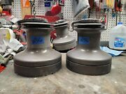 Pair Barient 32 Self Tailing Winches