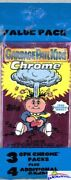 2013 Topps Chrome Garbage Pail Kids Series 1 Factory Sealed Value Fat Pack
