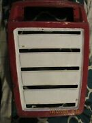 Used/1971 Wheelhorse Raider 12/ Front Grill This Unit Has Been Cut From Hood