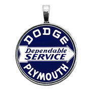 Dodge Plymouth Sign Image Key Ring Necklace Cufflinks Tie Clip Ring Earrings Car