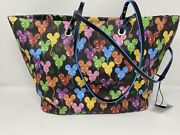 Disney Dooney And Bourke Mickey Mouse Balloons 10th Anniversary Tote Purse