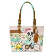 Disney Dooney And Bourke Epcot Flower And Garden Festival 2020 Minnie Mouse Tote P