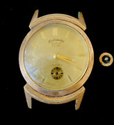 Vintage Menand039s Continental Geneva Greygor 17 Jewels Gold Filled Watch