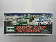2009 Hess Toy Truck Race Car And Racer Set - New In Box