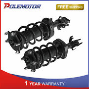 2x Left And Right Side Front Quick Complete Struts Shocks For 2007-2014 Honda Cr-v