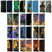 Official Vincent Hie Felidae Leather Book Wallet Case Cover For Fire