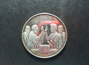 Lincoln Mint The Inauguration John F. Kennedy Silver Art Medal D9144