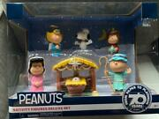 New Peanuts Nativity Figures Deluxe 7 Piece Christmas Set