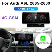 Android 10 Car Gps Player Video Auto Wireless Carplay For Audi A6 A6l 2005-2009