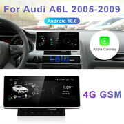 Android 10 Car Gps Navigation System Wireless Carplay For Audi A6 A6l 2005-2009