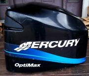 Mercury 200 Hp Optimax Saltwater Outboard Hood Cover Cowling 850299t1 1998-02