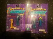 1996 Adventures Of Gumby And Friends Figure Toy Lot Of 2 New Goo Prickle