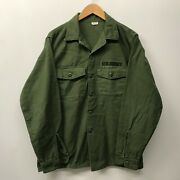 Og107 Fatigue Shirt, Size 16 1/2 X 36 1960's-1970's Us Army M-69