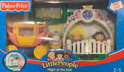 Little People Night At The Ball New Fisher Price Horse Carriage Figures