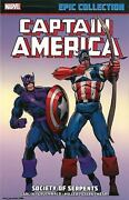 Captain America Epic Collection Society Of Serpents