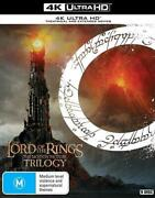 The Lord Of The Rings Trilogy   Uhd Theatrical + Extended Edition - Dvd Region