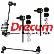 4pc Front And Rear Sway Bar End Links Kit For Equinox Gmc Terrain Pontiac Torrent