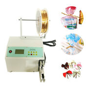 110v Automatic Wire Tie Twist Machine Electric Bag Closure 3-32mm 110v With Gift