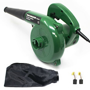 Variable Speed Electric 200 Mph 3.5a Air Blower Sweeper Vacuum With Dust Bag