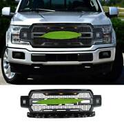 Black With Light Front Center Mesh Grille Grill For Ford F-150 F150 2018-2020