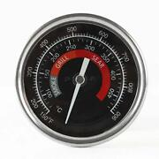 Bbq Grill Temperature Gauge Waterproof Large Face For Kamado Joe Charcoal Grill