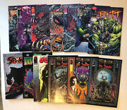 Lot Of 13 Assorted Image Comic Books Dark Realm Spawn Witchblade Collectibles