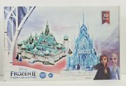 Disney Movie Frozen 2 Arendelle And Ice Castle, 3d Puzzle, New, Factory Sealed