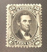 U.s. 98 Very Nice Mint Light Hinged F Grill Issue Lincoln Od A81